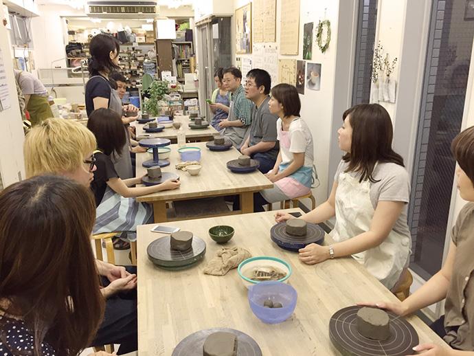 飯椀作り体験風景3