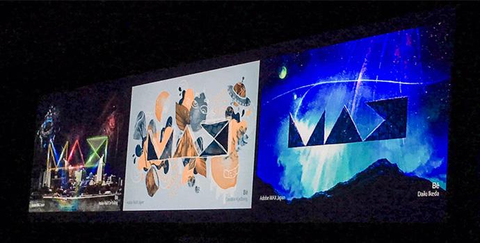 Adobe MAX Japan 2017 screen